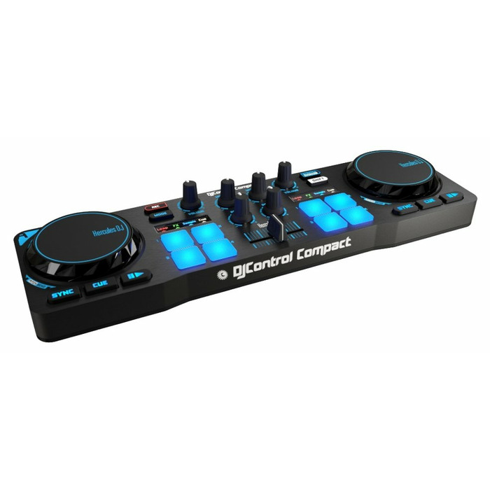 Hercules 4780843 2channels Black DJ controller