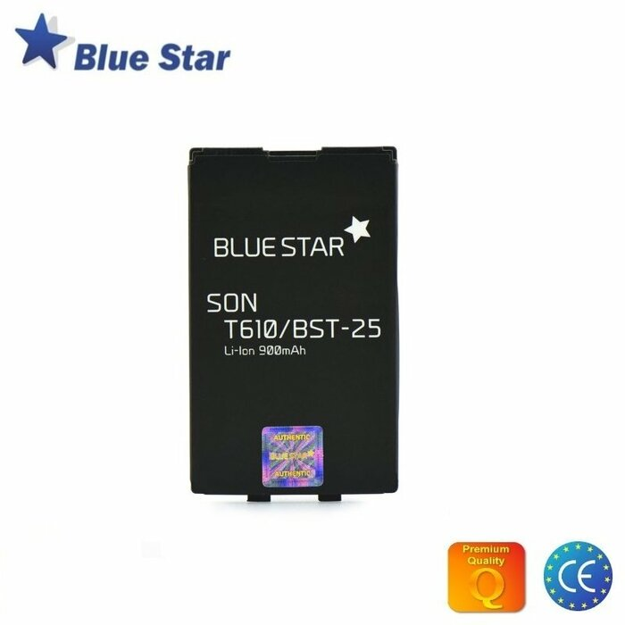 BlueStar Akumulators Sony Ericsson T610 T630 Li-Ion 900 mAh Analogs BST-25