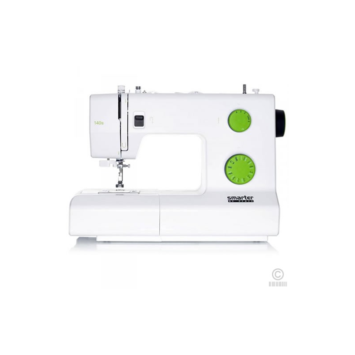 Sewing machine PFAFF SMARTER 140S  White/Green, Number of stitches 21, Number of buttonholes 1, Automatic threading