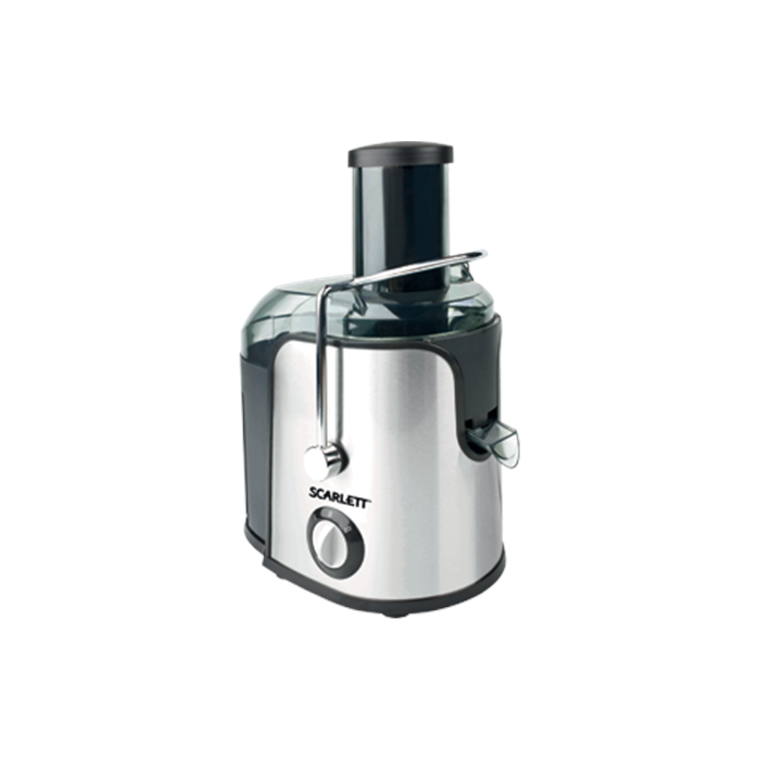 Juicer Scarlett SC-JE50S11S Type Centrifugal juicer, Stainless steel, 1000 W, Extra large fruit input, Number of speeds 2