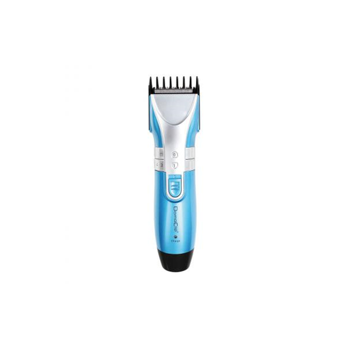 DomoClip DOS121 Hair clipper, Cordless, Number of length steps 10, Rechargeable, LED indicators, Operating time 40 min, 3 W, Yes, Blue