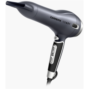 Carrera Hair Dryer No. 631  Ionic function, Motor type AC, 2400 W, Grey/Black