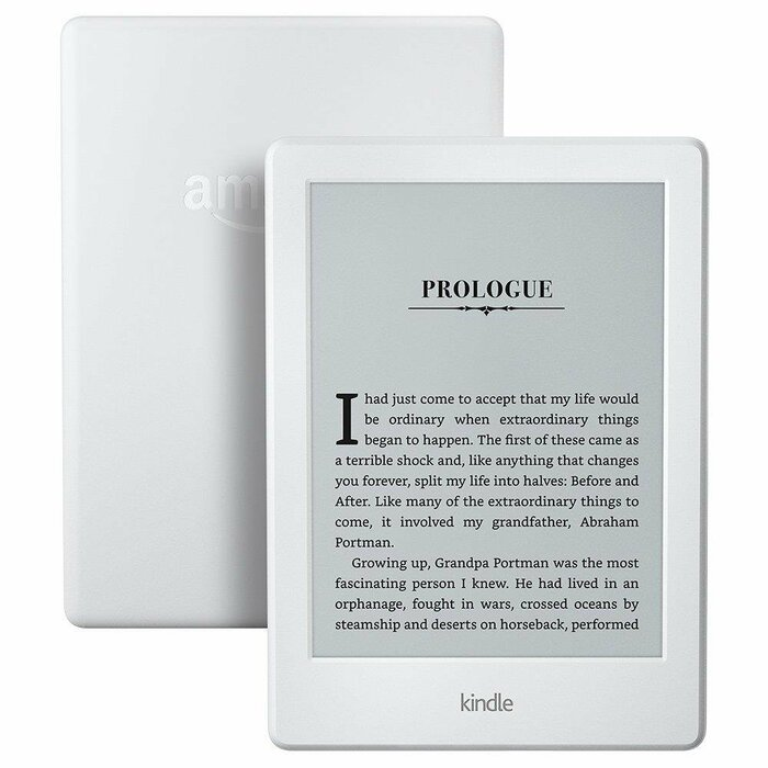 eReader Amazon Kindle 8 touch 6'', WiFi, [Sponsored] white