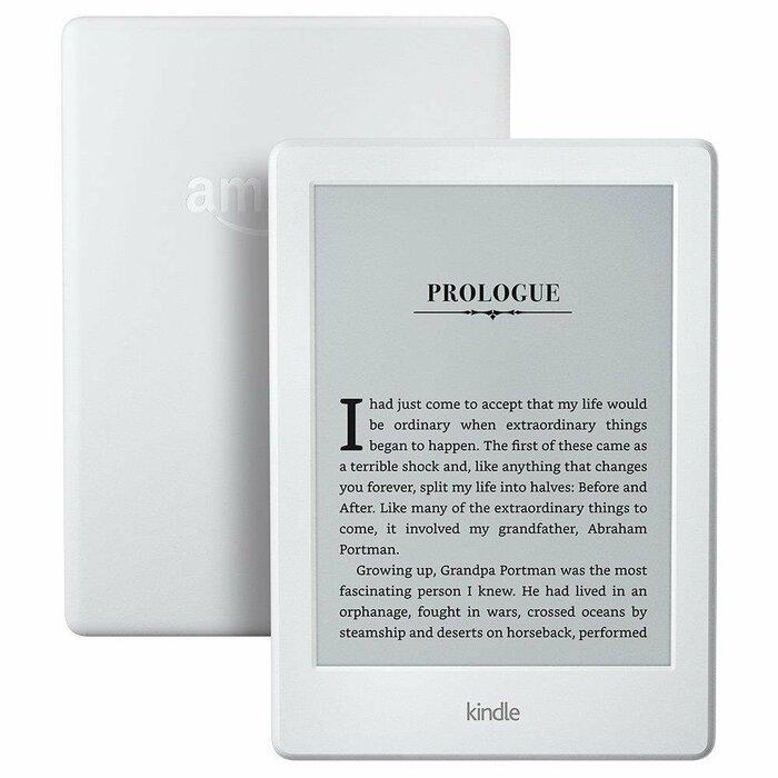 eReader Amazon Kindle 8 touch 6'', WiFi, [Sponsored] white