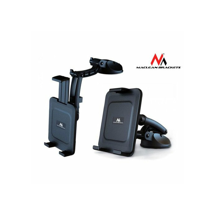 Maclean MC-627 Universal Car Mobile Device Holder Mount Adjustable 5'' 11''