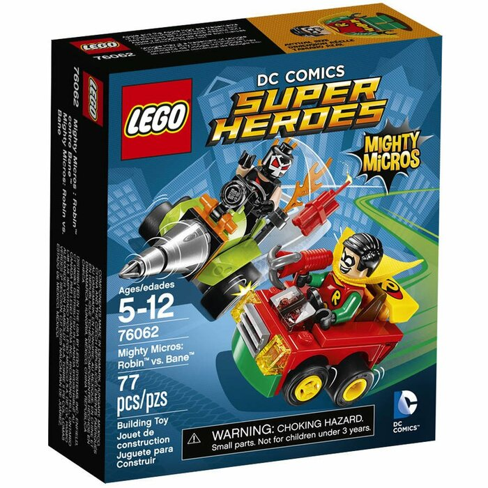 Lego Super Heroes 76062 Mighty Micros: Robin vs Bane