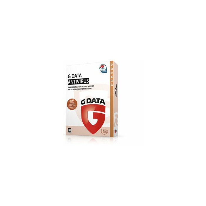 G DATA AntiVirus 2015, ESD, 2 Y, 1 U 1 license(s) Renewal
