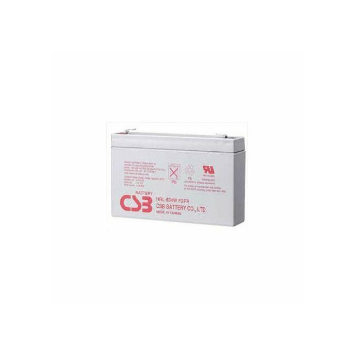 CSB rechargeable battery HRL 634W 6V 34W