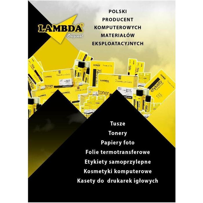 Tape Lambda black | OKI 5520/5521/5590/5591 | 1126301 | 4 mln.