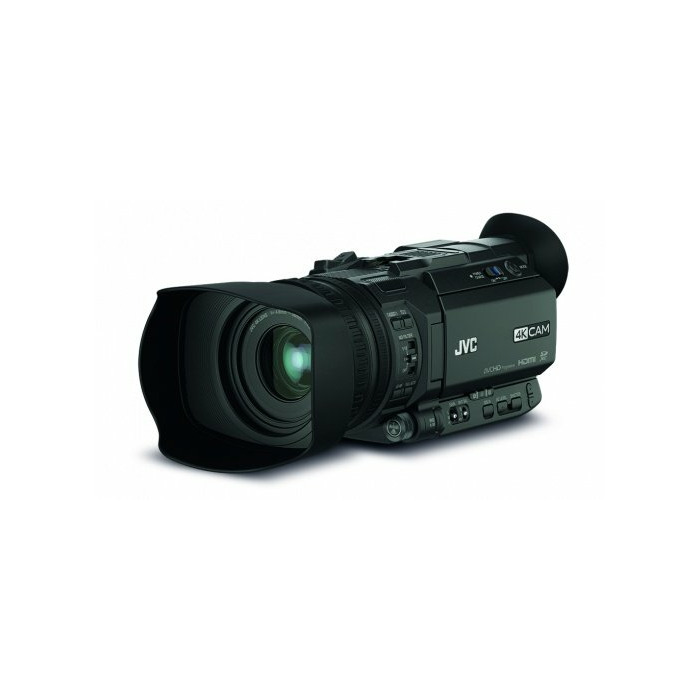 JVC GY-HM170E hand-held camcorder 12.4 MP CMOS Handheld camcorder Black Full HD