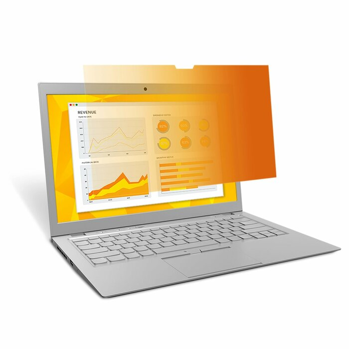 "3M Gold Privacy Filter for 15.4"" Widescreen Laptop (16:10)"
