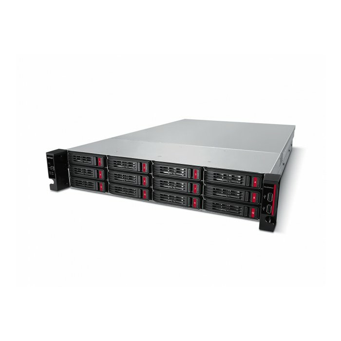 Buffalo TeraStation 51210RH NAS Rack (2U) Ethernet LAN Black