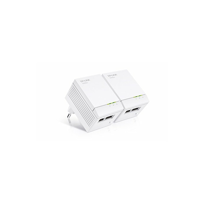 TP-LINK TL-PA4020 KIT 500Mbit/s Ethernet LAN White 2pc(s) PowerLine network  adapter