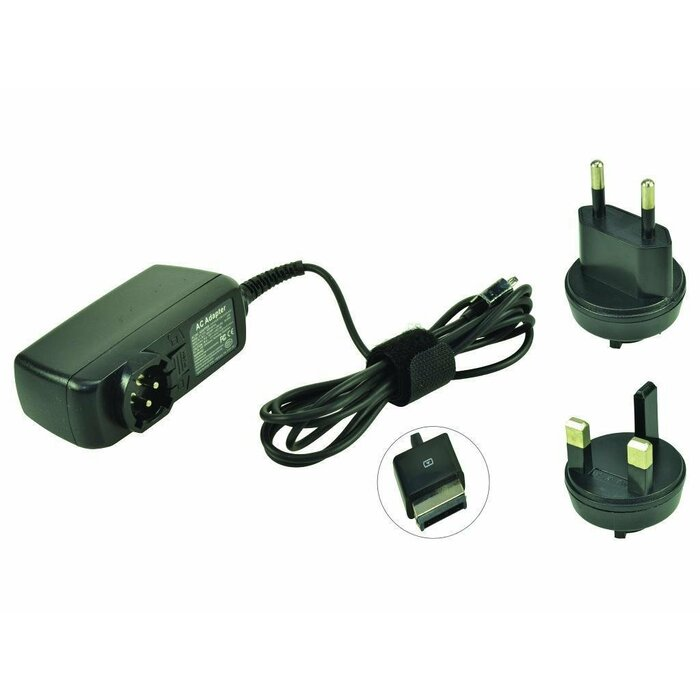2-Power AC Adapter 15V 18W (+ UK/EU Plugs) inc. mains cable power adapter/inverter