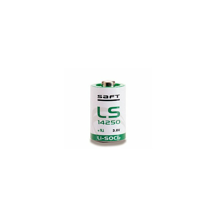 Saft LS14250 Lithium 3.6V non-rechargeable battery