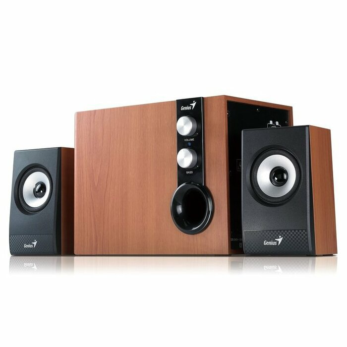 Genius SW-HF2.1 1205 speaker set 2.1 channels 32 W Wood