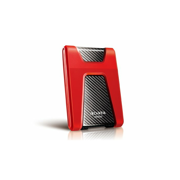 ADATA DashDrive Durable HD650 external hard drive 1000 GB Red