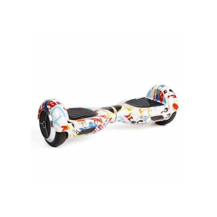 eBoard Classic M01 (Hoverboard, Segway, Scooter, giroskuteris)  Colorfull White
