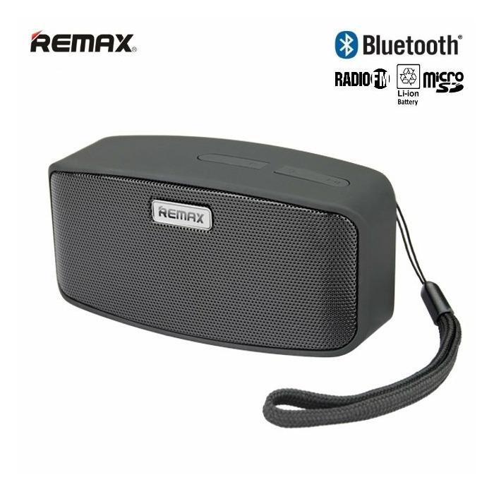 Remax RM-M1 Bluetooth 3.0 Kompakts 6W Portatīvais Mūzikas Skaļrunis ar FM Radio +MicroSD Melns