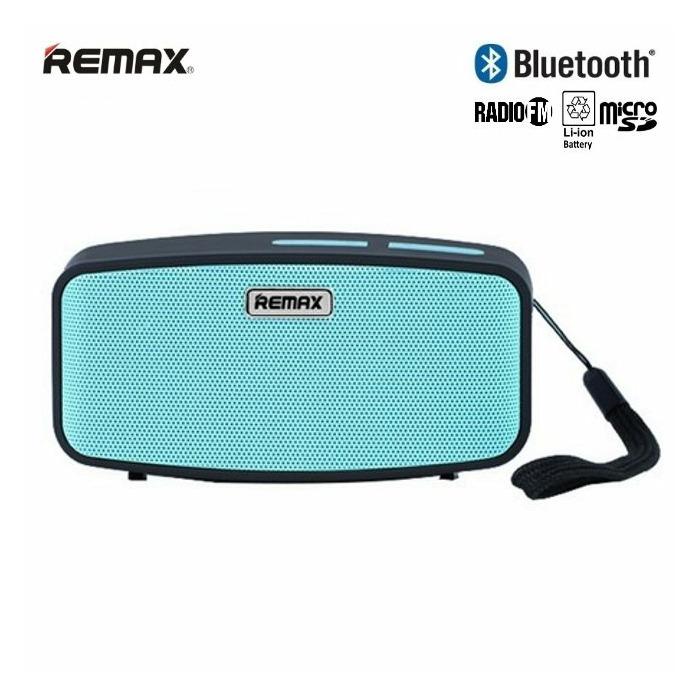 Remax RM-M1 Bluetooth 3.0 Kompakts 6W Portatīvais Mūzikas Skaļrunis ar FM Radio + MicroSD Zils