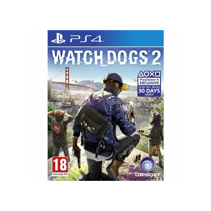 PS4 Watch Dogs 2 incl  Russian Audio
