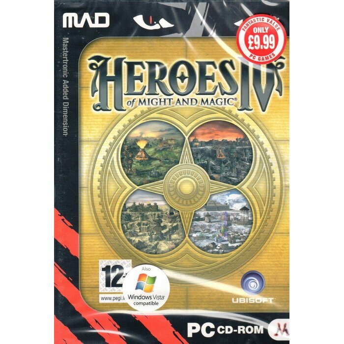 PC Heroes of Might and Magic IV