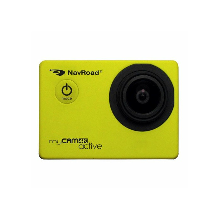 Sports camera/Car DVR NavRoad myCAM 4K Active (4K, Wi-Fi, sensor Sony) Yellow