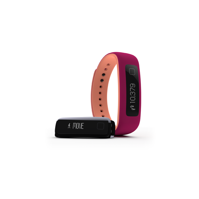iFIT VUE FITNESS ACTIVITY TRACKER WEARABLE (Sangria Papaya Punch - S/M and L/XL)