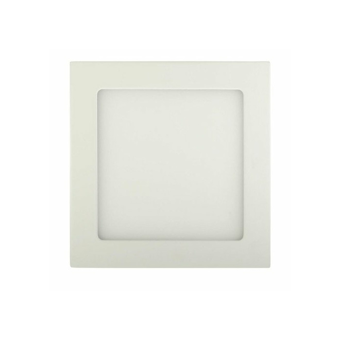 ART LED on plaster panel, square, 12*3.5cm, 6W, W 4000K