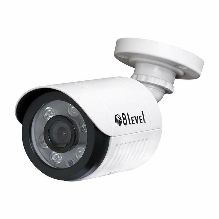 8level outdoor 2MP AHD camera  AHB-E1080-363-1  BNC IP66 3.6mm 1080p