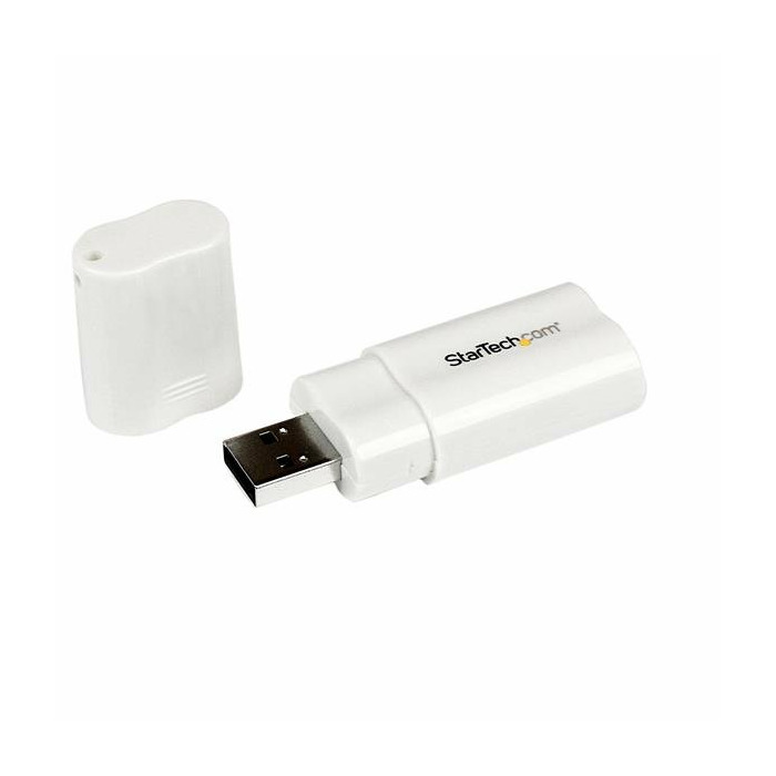 StarTech.com USB to Stereo Audio Adapter Converter