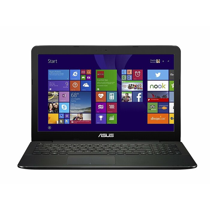 Asus F554L 15.6 HD/Intel i5-5200U/4GB RAM/500GB HDD/Qwerty Spain key/Windows 8.1 (Upgr. to Win10)/Ref