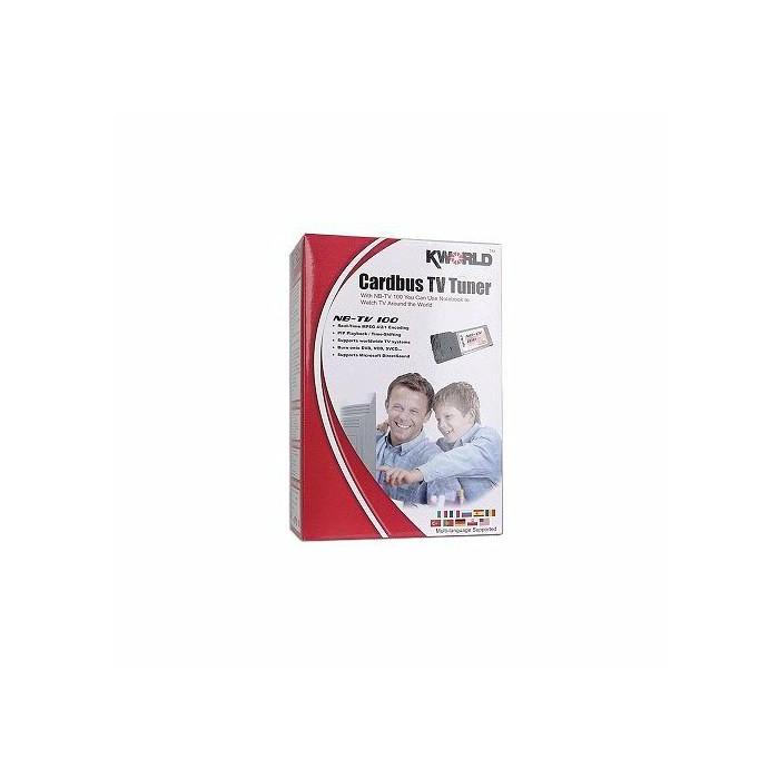 KWorld Cardbus TV Tuner NB-TV 100