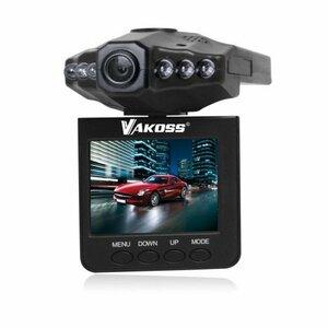 Vakoss multi-function driving recroder HD VC-605 black