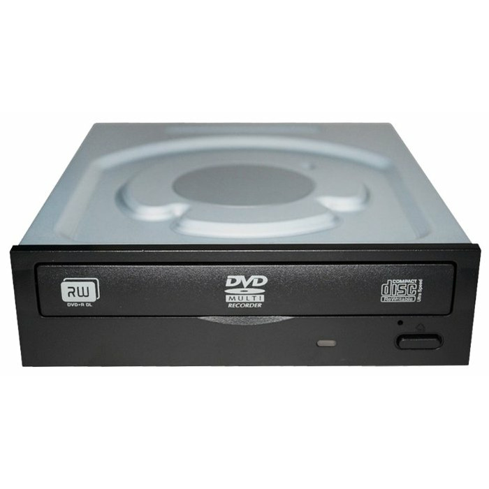 Lite-On iHAS122 optical disc drive Internal DVD±RW Black, Stainless steel