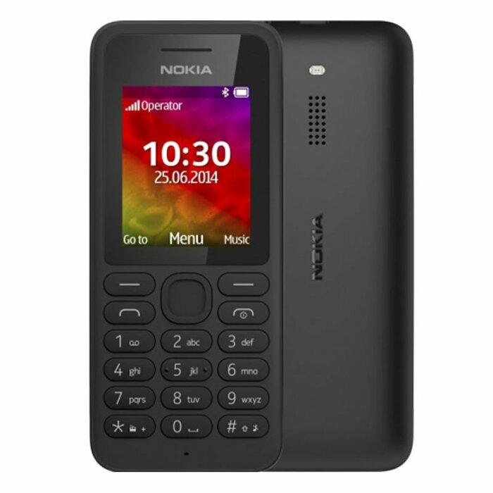 """Nokia 130 Dual SIM 1.8"""" Black"""