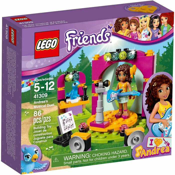 Lego Friends 41309 Andreas Musical Duet