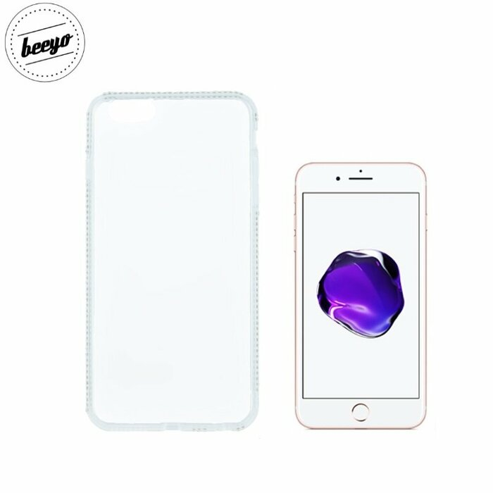 Beeyo Diamond Frame Super Thin Silicone Clear Back Gsm024201