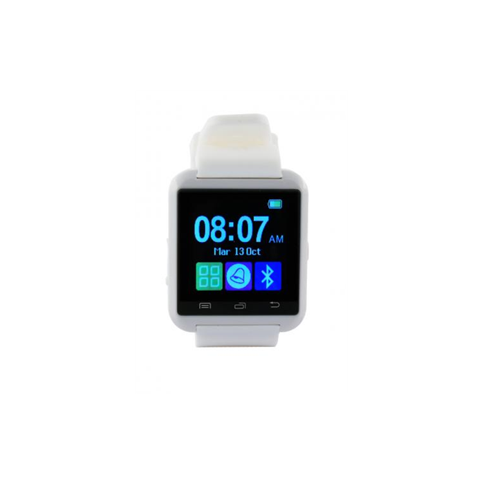 KSIX Smart watch BXSW02 White, Bluetooth,