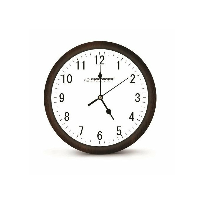 Esperanza EHC015W WALL CLOCK -  LOS ANGELES - WHITE