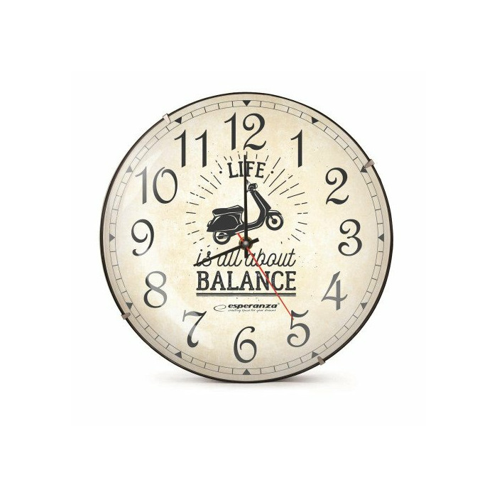 Esperanza EHC018S WALL CLOCK - SEATTLE