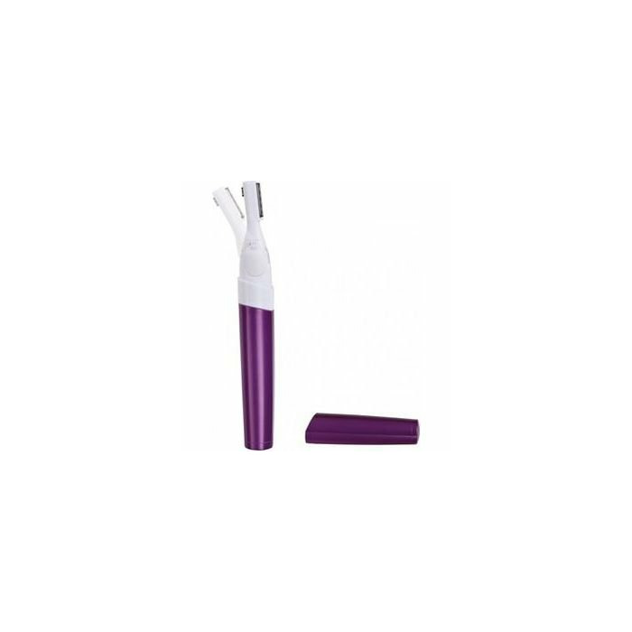DomoClip Eyebrow shaver DOS143 R3/AAA 1,5V, Number of shaver heads/blades Double blades 5 mm and 17 mm, White/ violet