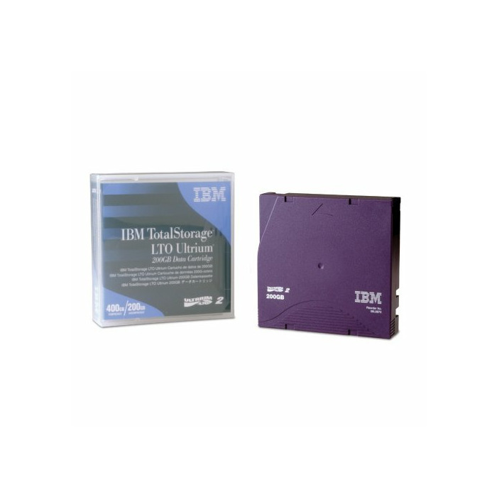 IBM LTO Ultrium 200 GB Data Cartridge 1.27 cm