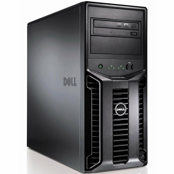 DELL PowerEdge T110 II 3.1GHz E3-1220, 24GB, 4 x 1TB 305W Tower server
