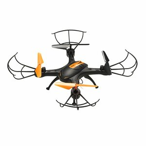 Denver DCW-380 camera drone 4 rotors Quadcopter 640 x 480 pixels 380 mAh Black, Orange