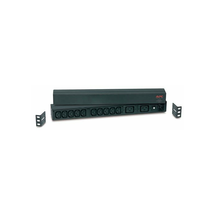 APC RACK PDU BASIC 1 U 16A 230V power distribution unit (PDU) Black