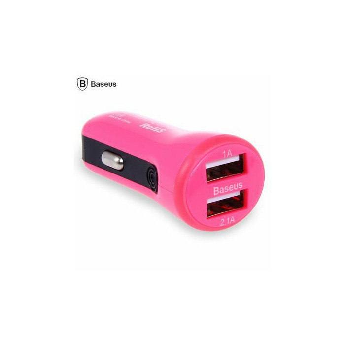 Baseus Tiny Car Charger CCALL-CR0R  pink