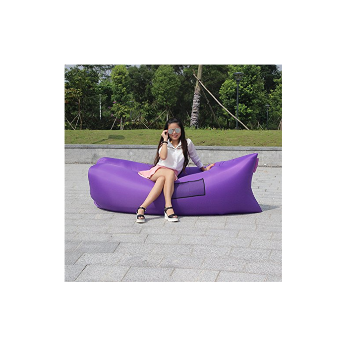 EK Airbeds EK Airbeds Ultralight, Air Bed, Side bag, 250x70cm, Purple