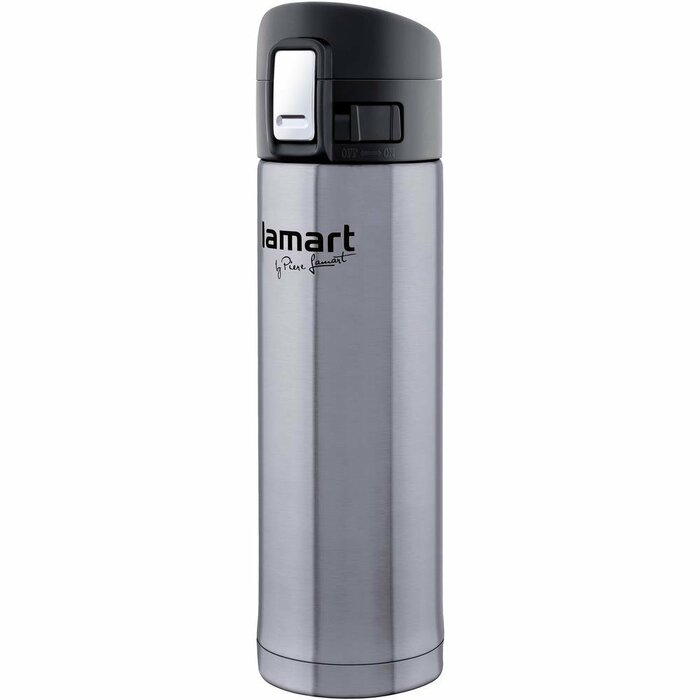 Thermos with a glass insert Lamart LT4008