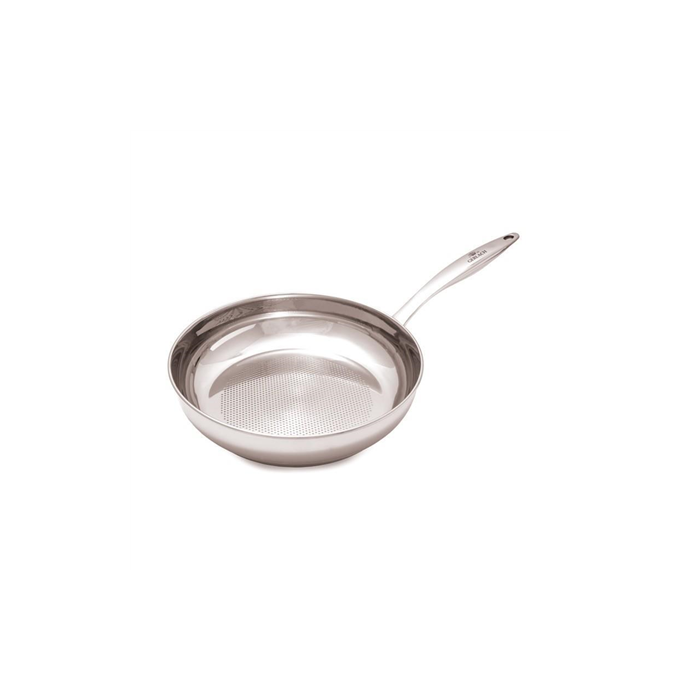 WMF Profi Type Frying pan, 24 cm, Suitable for hob types Ceran, gas, electric and induction, Stainless steel,